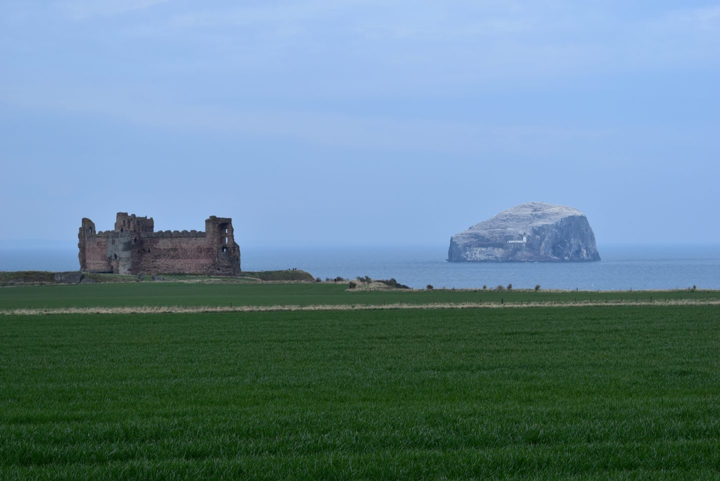 My Sunday Photo – The Castle and the Rock