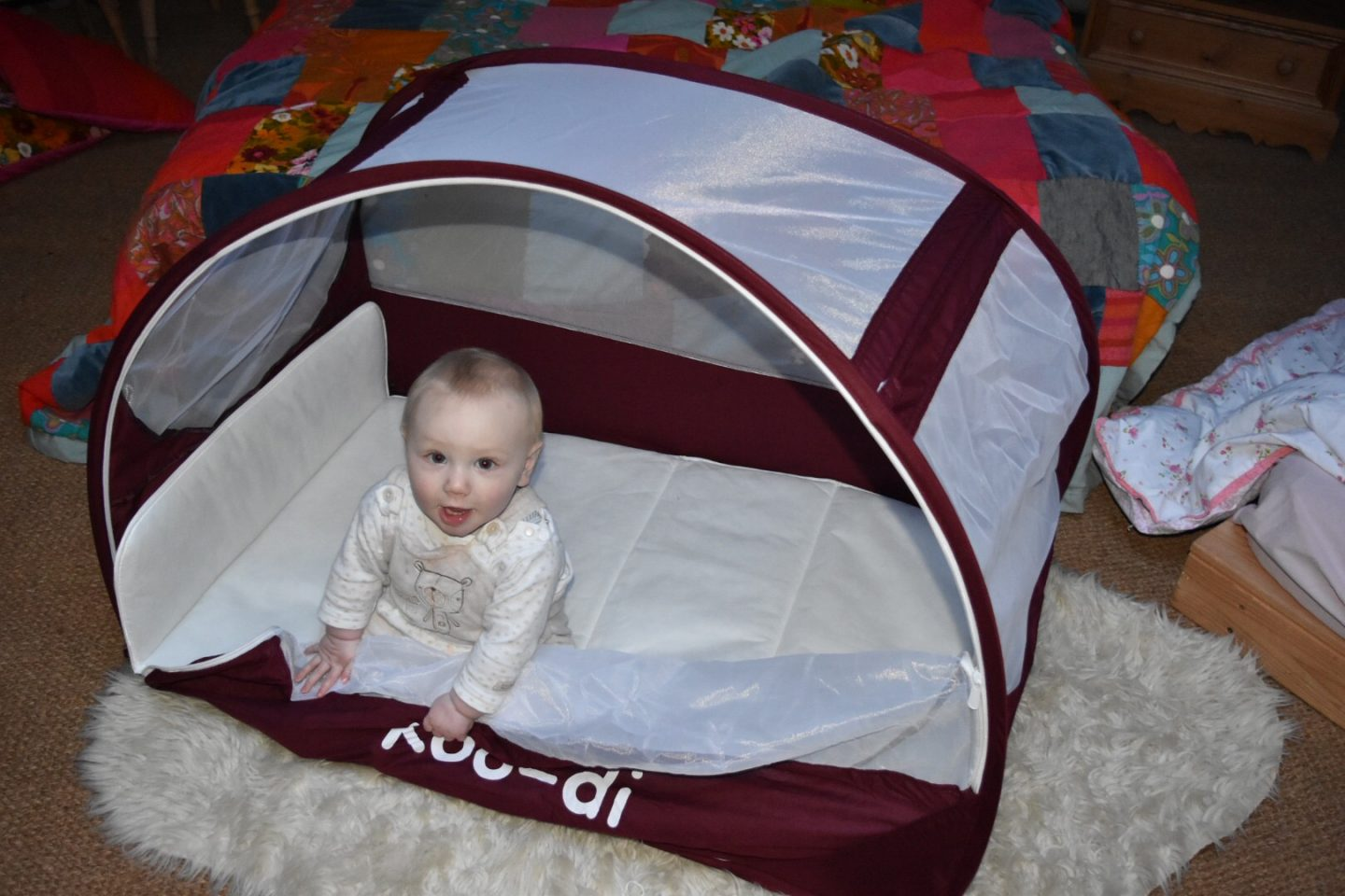 Koo-di Pop-Up travel bubble cot REVIEW