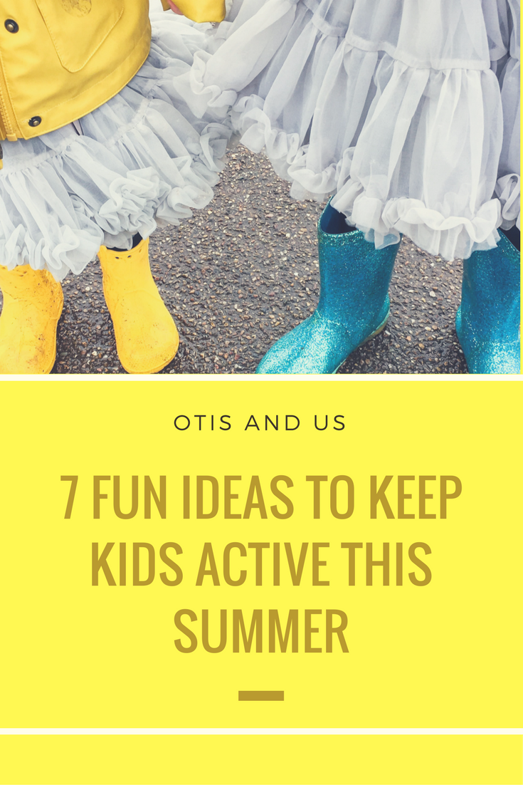 Ideas to Keep Kids Active