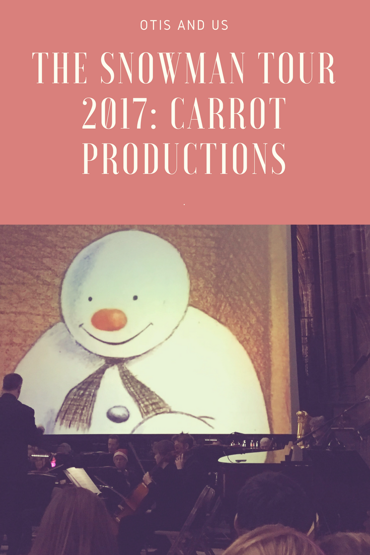 The Snowman Tour 2017: Carrot Productions