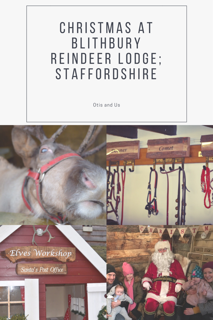 Christmas at Blithbury Reindeer Lodge; Staffordshire