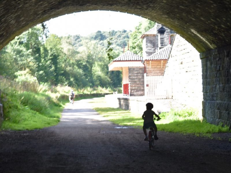cycling in Churnet Valley