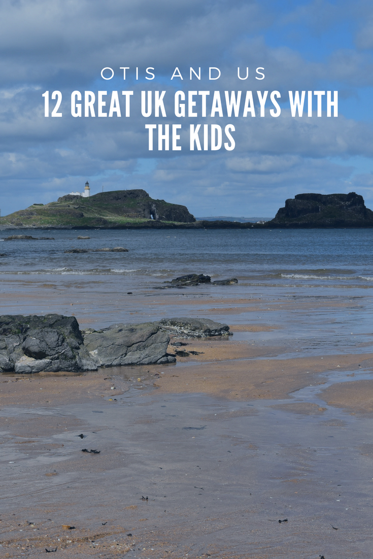Find 12 UK great getaways with the kids. #UKtravel #inspiration #familytravel