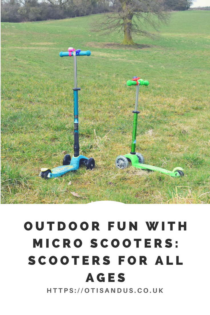 Outdoor Fun with Micro Scooters: Scooters for all ages