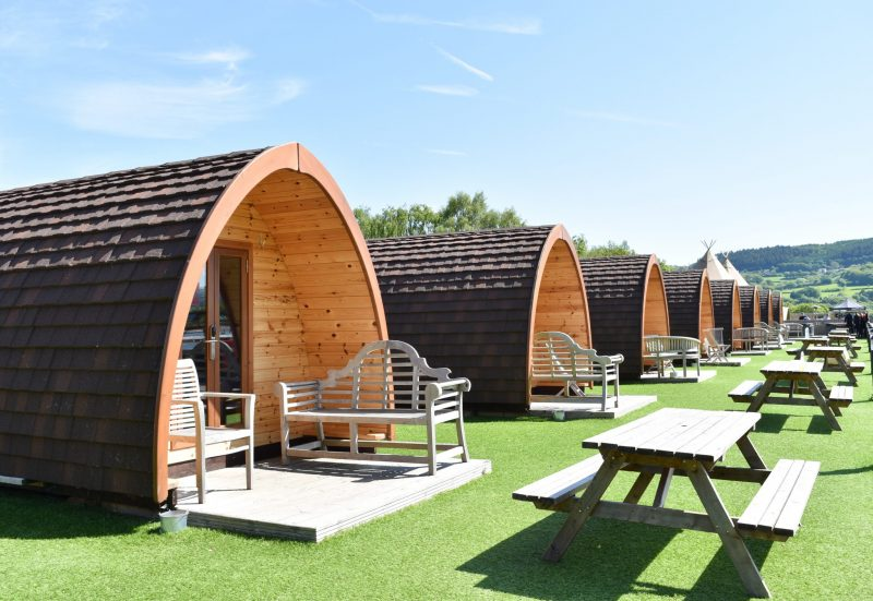 Surf Snowdonia pods: glamping in North Wales