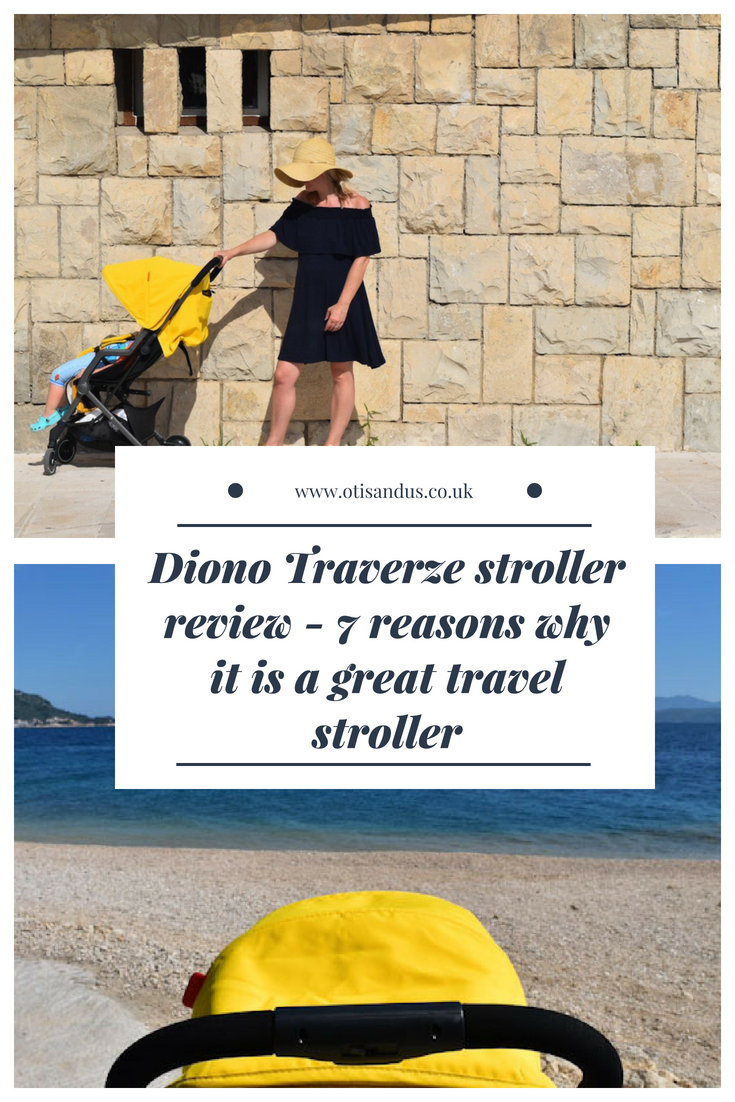 Diono Traverze stroller review - 7 reasons why it is a great travel stroller