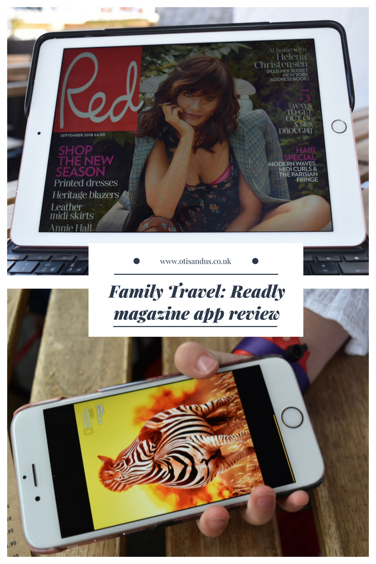 Family Travel: Readly magazine app review