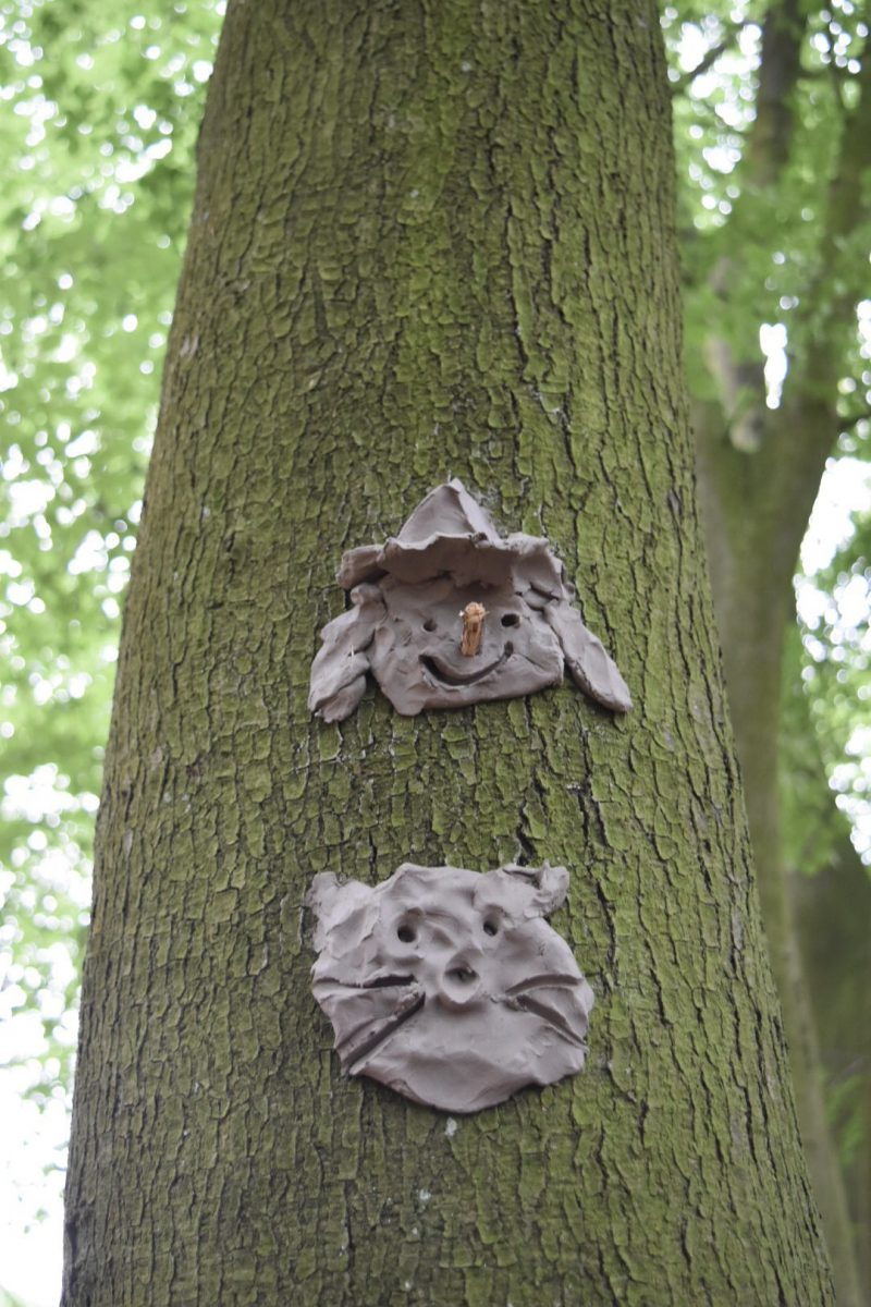 clay faces and other woodland birthday party ideas