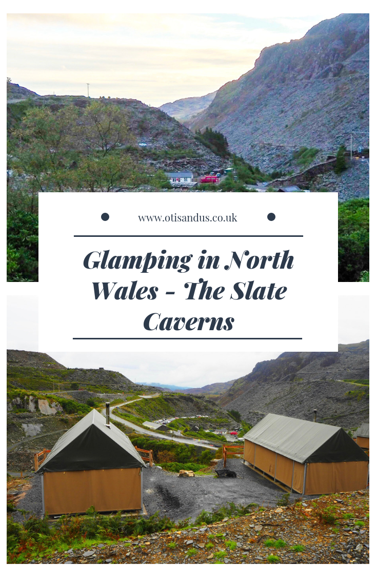Glamping in North Wales - The Slate Caverns