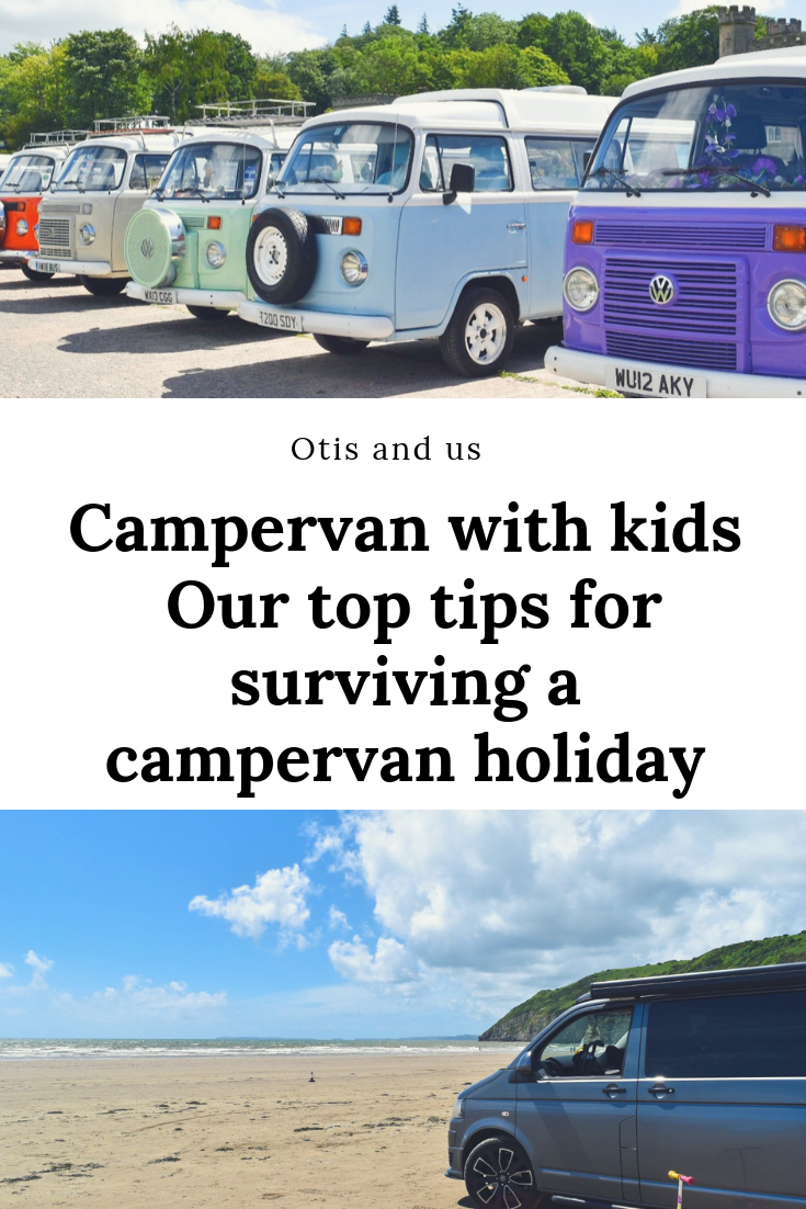 Campervan with kids – Our top tips for surviving a campervan holiday
