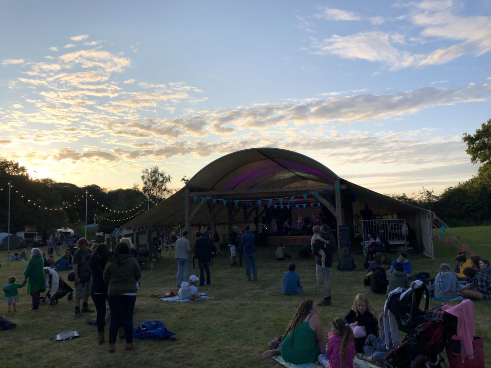 Main stage at Timber Festival 2019