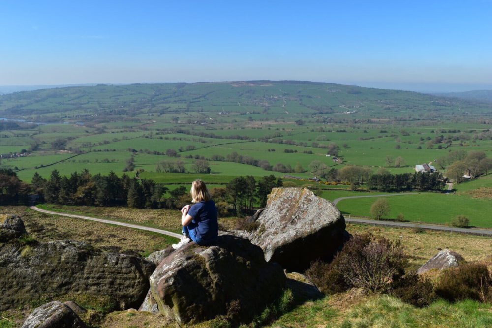 The Roaches offers a cheap family day out in Staffordshire with walks and cycling