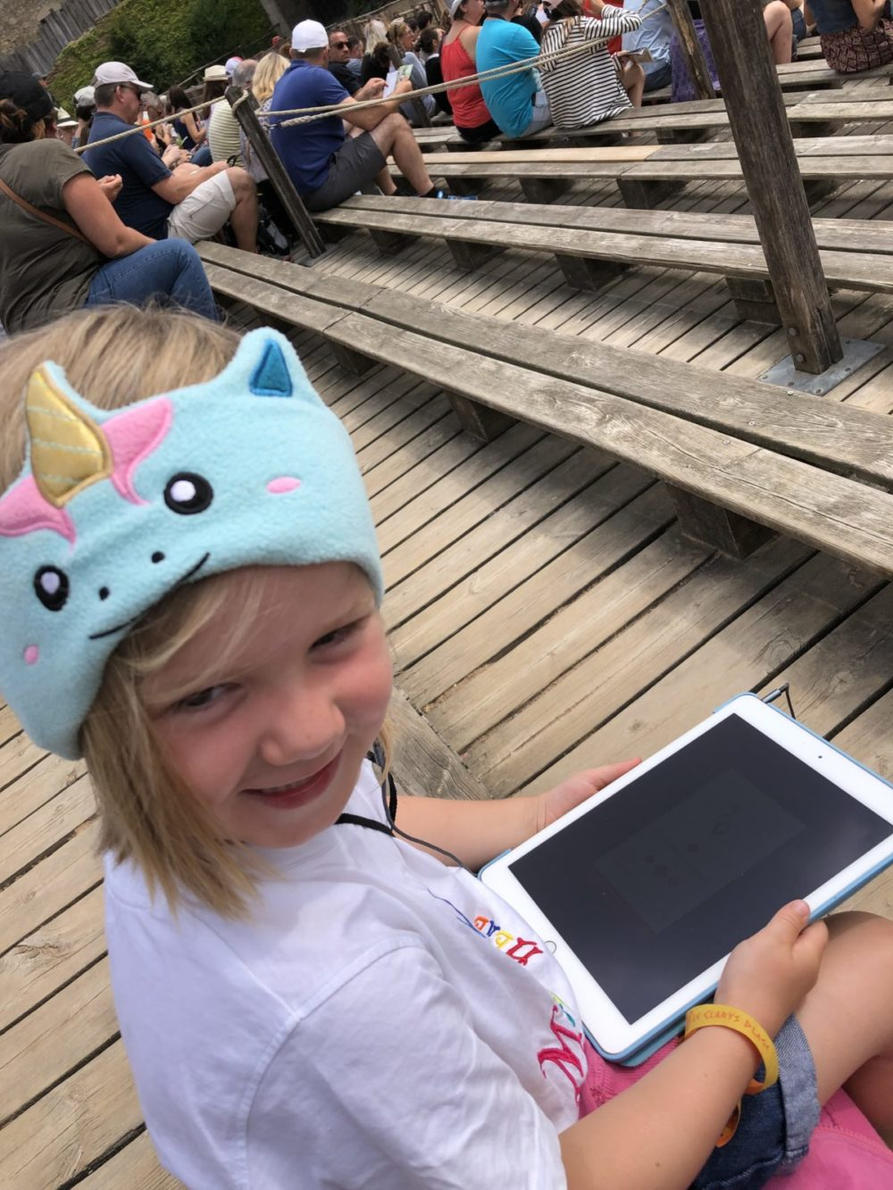 Tips for visiting Puy du Fou with kids - download the Puy du Fou app