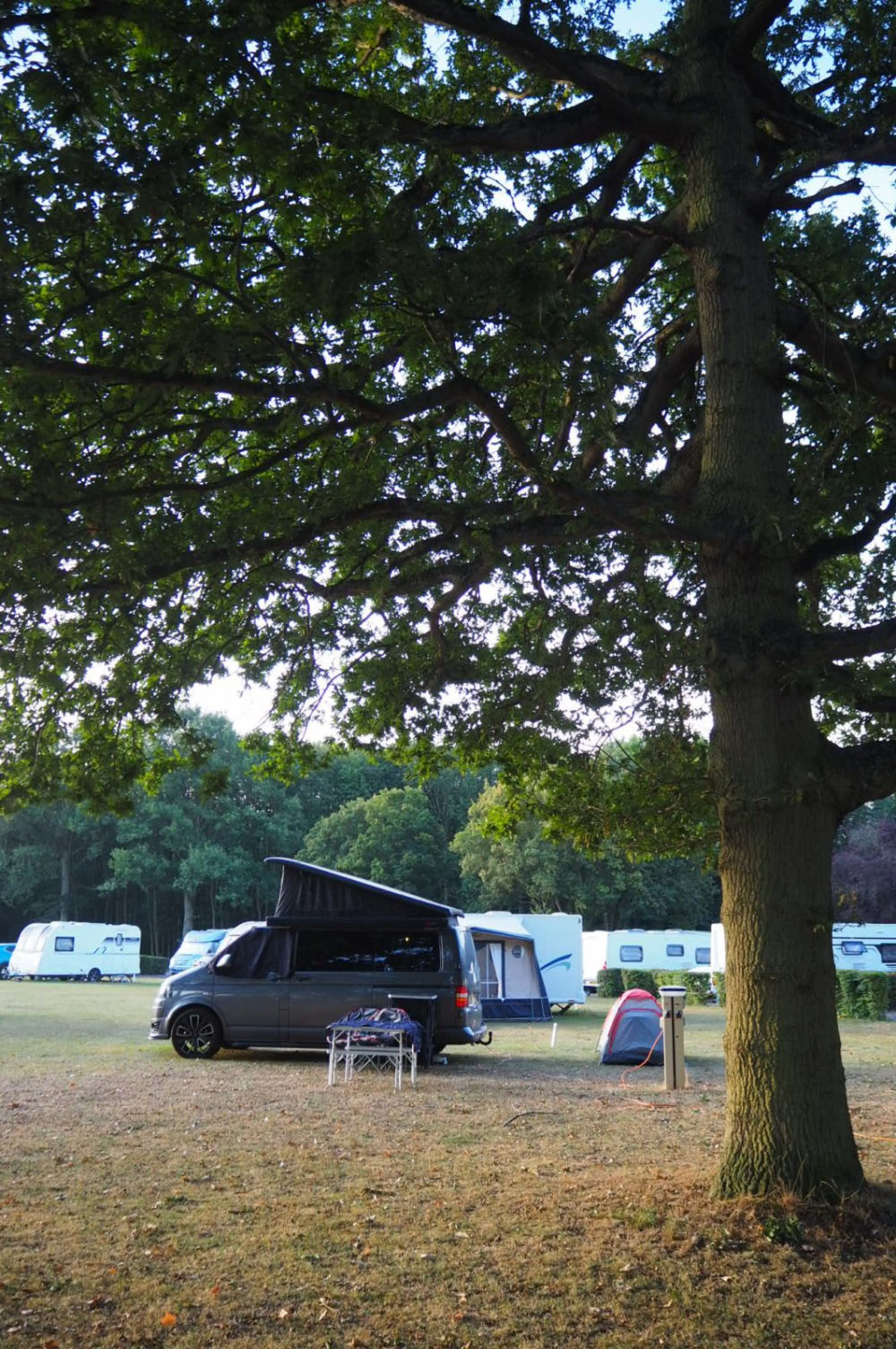 camper van holiday near to London