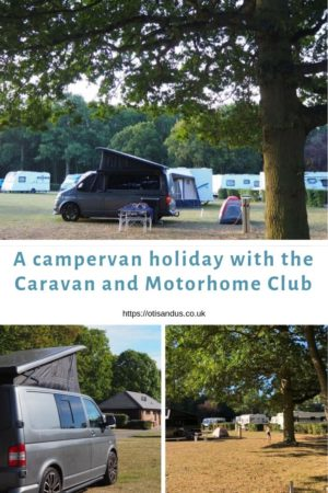camping near to London