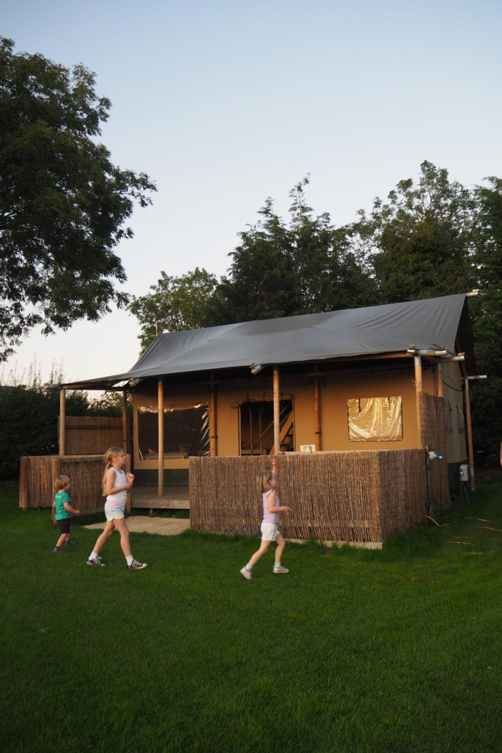 A review of safari tent lodge at Ashbourne Heights holiday park