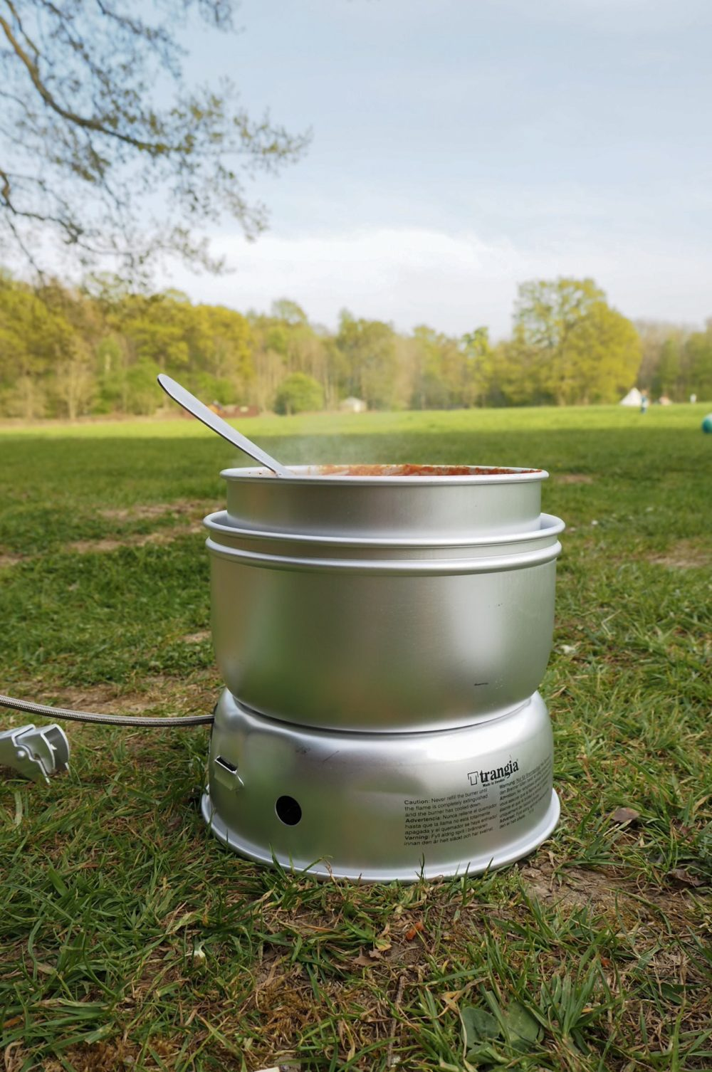 Vango Trangia stove is a van life essential for camper van life