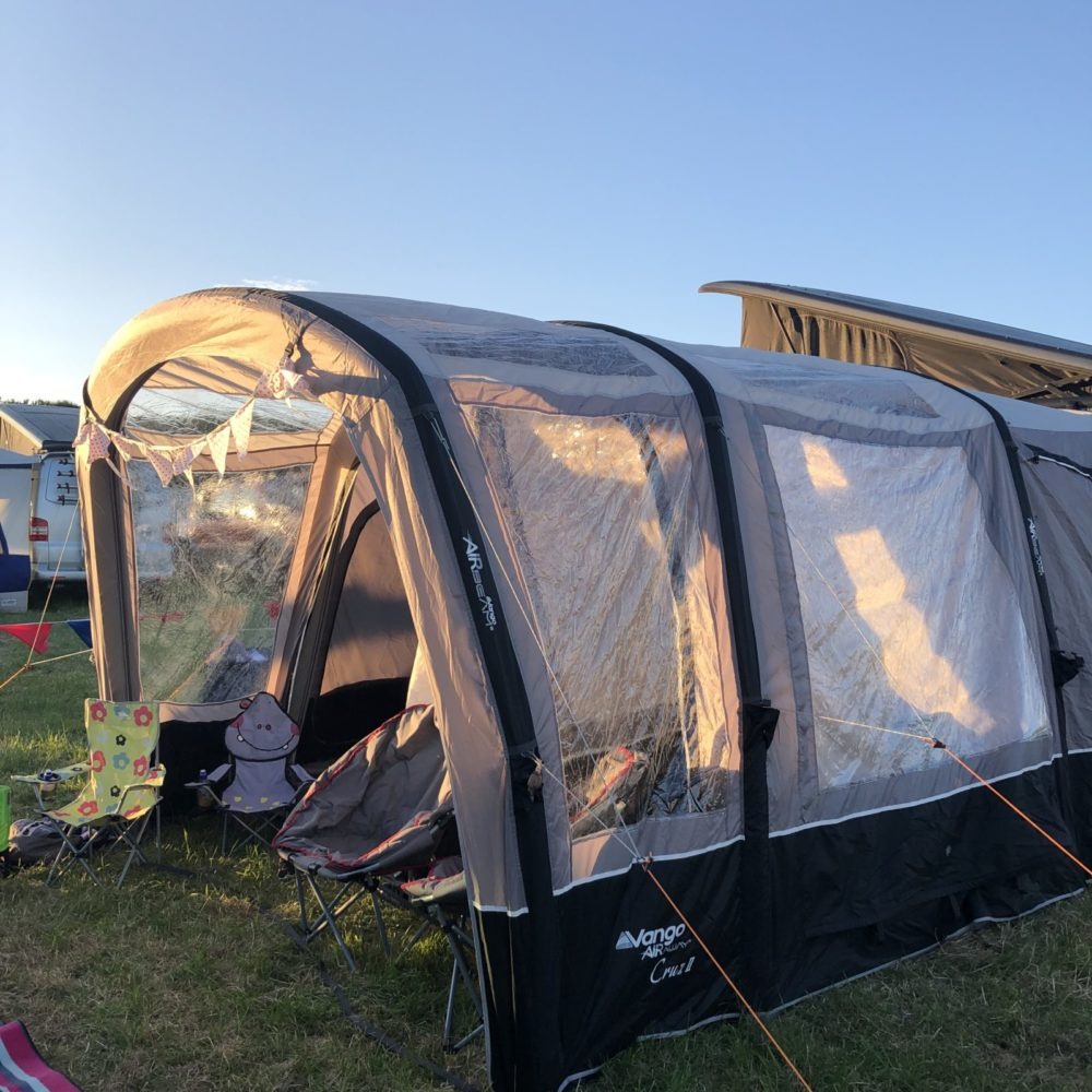 camper van awning - the Vango drive away awning an essential for a camper van or motorhome