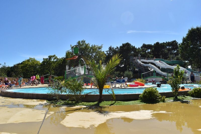 Le Mané Guernehué in Brittany France is a top Eurocamp parc for families and is suitable for toddlers.