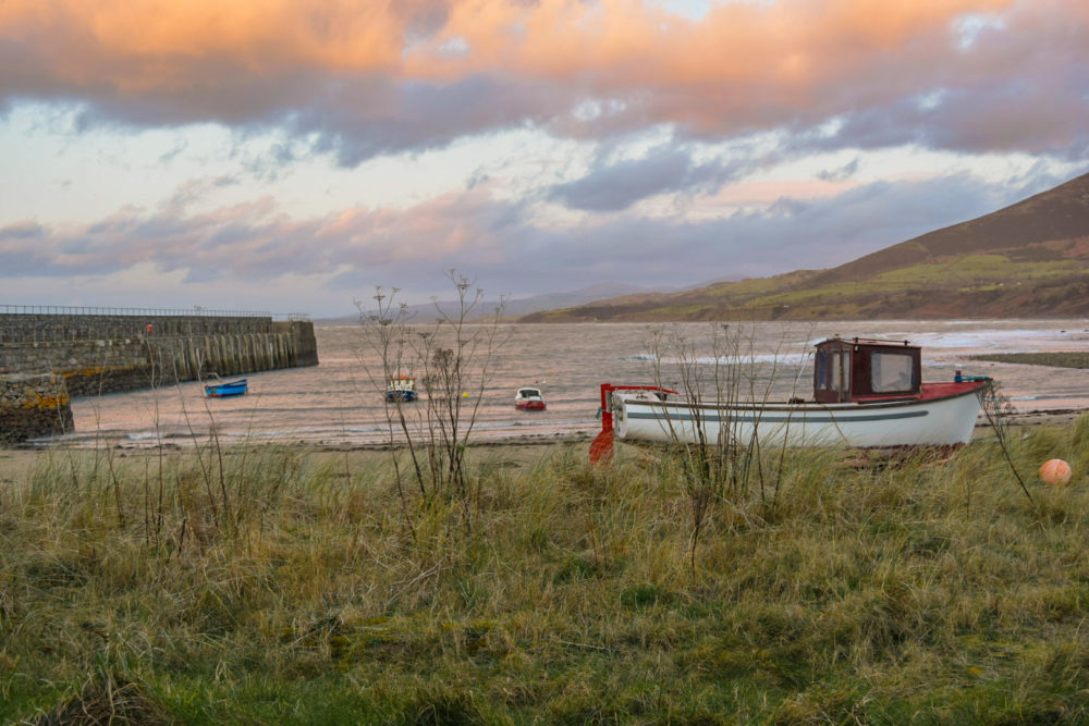 Trefor beach and harbour best places to visit on the Llŷn Peninsula