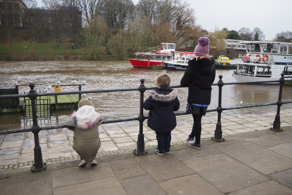 River Dee on a weekend break in Chester staying at Chester Central Travelodge