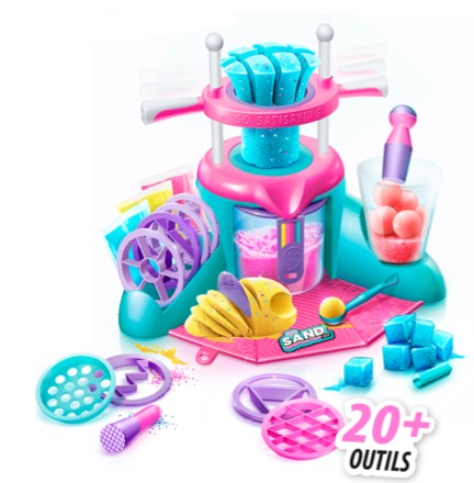 Summer giveaway bundle so sand DIY sensory studio by Canal Toys
