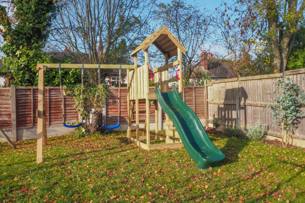 Christmas gift for outdoor kids, Wickey climbing frame