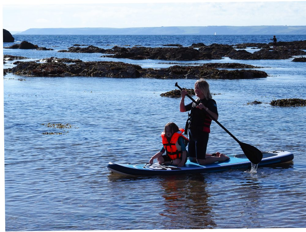 Review of inflatable paddleboard